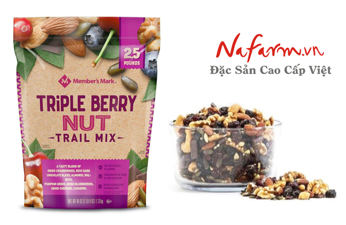 hat-trai-cay-say-hon-hop-Members-Mark-Triple-Berry-Nut-Trail-Mix-1.13Kg-nk-my